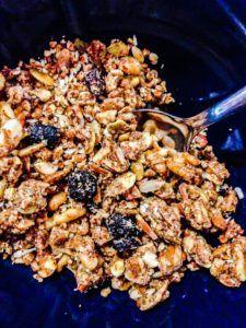 Crunchy Paleo Granola Cereal Recipe