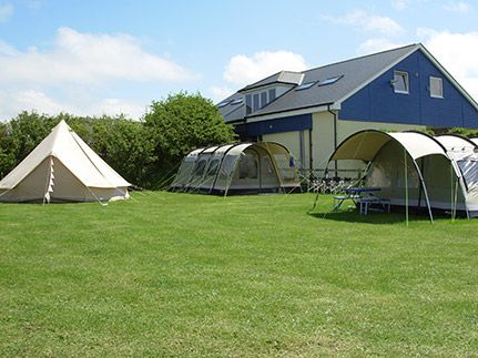 Polzeath Camping   South Winds Touring Park
