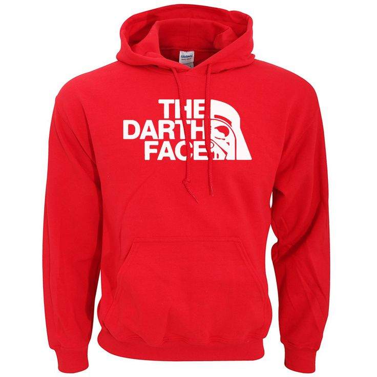 The Dart Face (northern face parody) pullover hoody