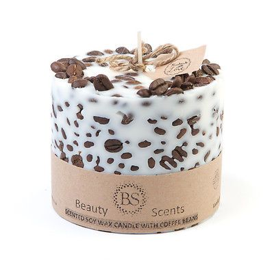 Beauty Scents Handmade Scented Soy Candle with Coffee Beans in Home, Furniture & DIY, Home Decor, Candles & Tea Lights | eBay
