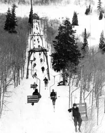 Skiing--Snow Basin P.2 :: Utah State Historical Society - Classified Photographs