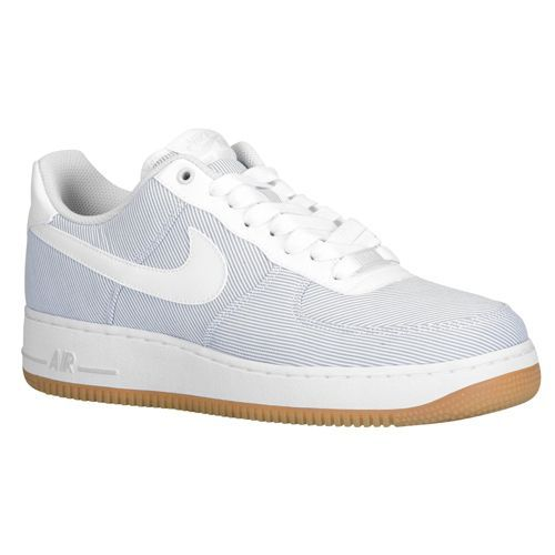 Nike Air Force 1 Low - Men's - Basketball - Shoes - Pure Platinum/White/Gum  Light Brown | Kicks | Pinterest | Nike air force low, Nike air force and  Nike ...