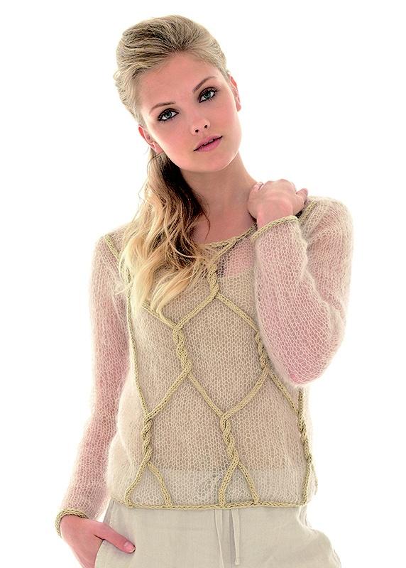 British Crochet Magazines : Rowan Magazine 53 (British knitting/crochet company) - Marshmallow by ...