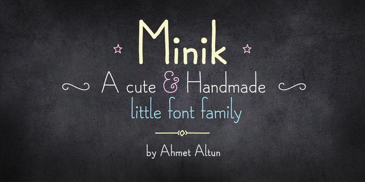 Minik Font Family