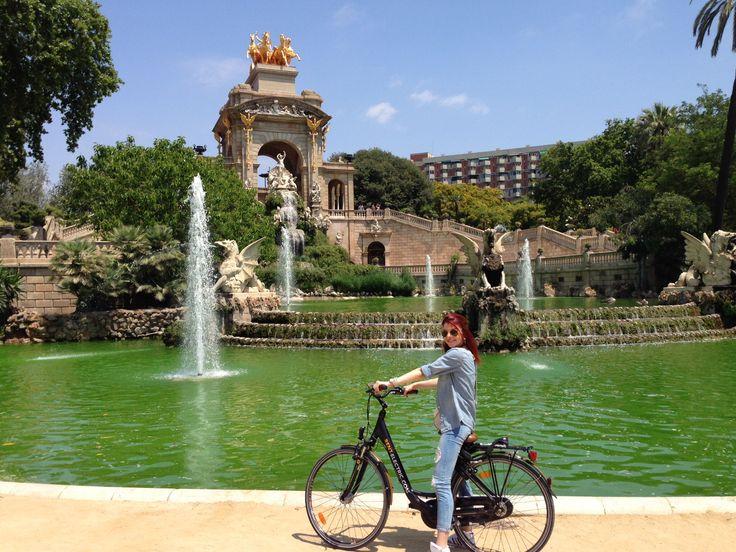 Barcelona on bike !