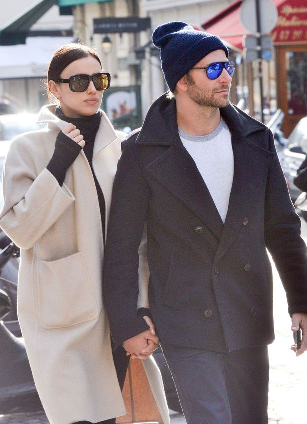 Bradley Cooper and Irina Shayk take romantic stroll hand-in-hand after he's snapped with Naomi Campbell