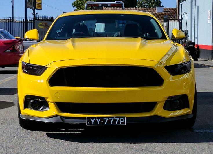 Eastside Mustang Enhancement grille delete