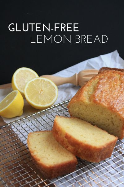 Gluten-Free Lemon Bread & Chance Meetings ~ http://www.spoonandsaucer.com