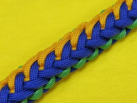 How to make a Paralax Sinnet Paracord Bracelet