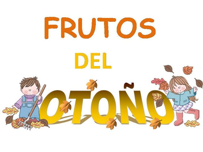 Vocabulario en imágenes. Maestra de Infantil y Primaria.: Frutos de otoño