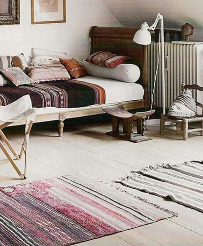 textilesDecor, Guest Room, Ideas, Beds, Interiors, Living Room, Textiles, Bedrooms, Rugs