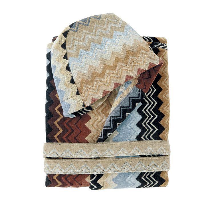 Coming Soon! top3 by design - Missoni Home - Giacomo hooded bathrobe