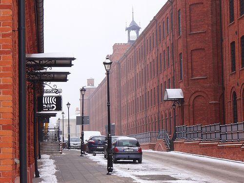 Old Łódź / part of the renovated complex of the Karl Wilhelm Scheibler's textile factory, Łódź, Poland