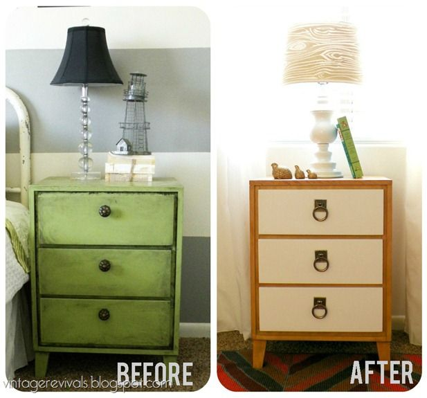 120 best antes e depois images on pinterest before after for How to build a nightstand from scratch