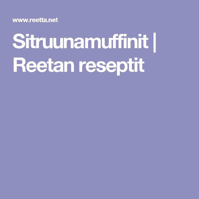 Sitruunamuffinit | Reetan reseptit