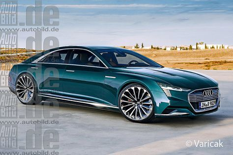 Audi C e-tron; Expected debut: 2020. This concept could go into production and compete as a four-door luxury coupe with the likes of the Mercedes SEC and BMW 9 series. The C e- tron hint: like their Q4 and Q6, the four-seater Audi's third electric should come with up to 400 kW power.