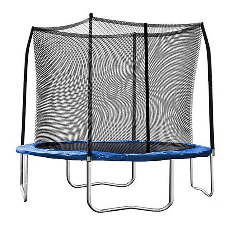 Skywalker Trampolines 10-ft. Round Trampoline with Enclosure, Blue
