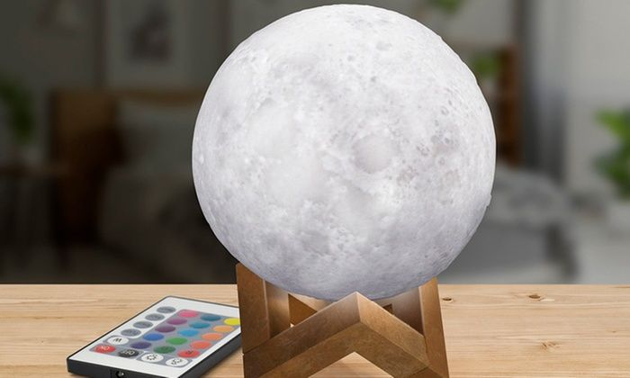 Moon Lamp Light 3d Rechargeable 3 Colors 42 Off In 2020 Moon Light Lamp 3d Light Mood Lamps