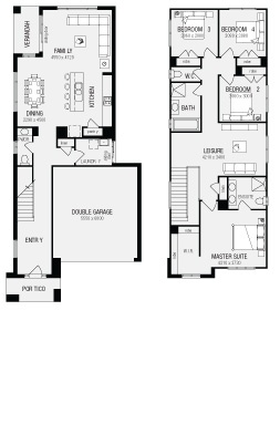 Banksia, New Home Floor Plans, Interactive House Plans - Metricon Homes - NSW