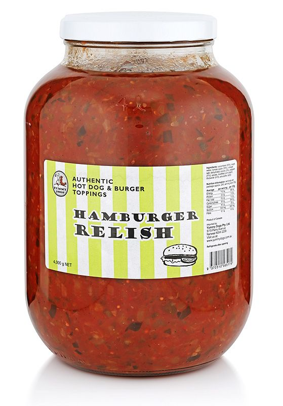 Your customers will keep coming back for more, if you start serving up this classic topping in your pub, coffee shop, restaurant, food stall or truck. Experience a chunky, supremely tasty relish made by Yummy Dogs.