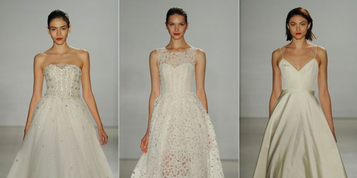 New Amsale Wedding Dresses For Fall 2016 Are Modern And Romantic|The Knot