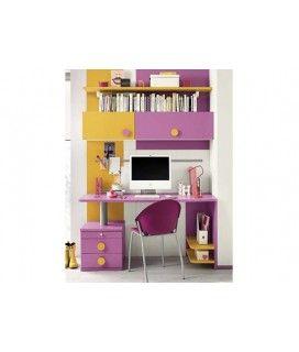 Παιδικό γραφείο με βιβλιοθήκη
