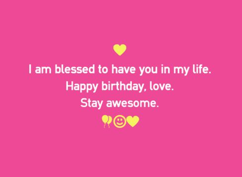 Happy Birthday Quotes For Her Classy Happy Birthday Quotes For Boyfriend  Wishesgreeting  ♥ Love