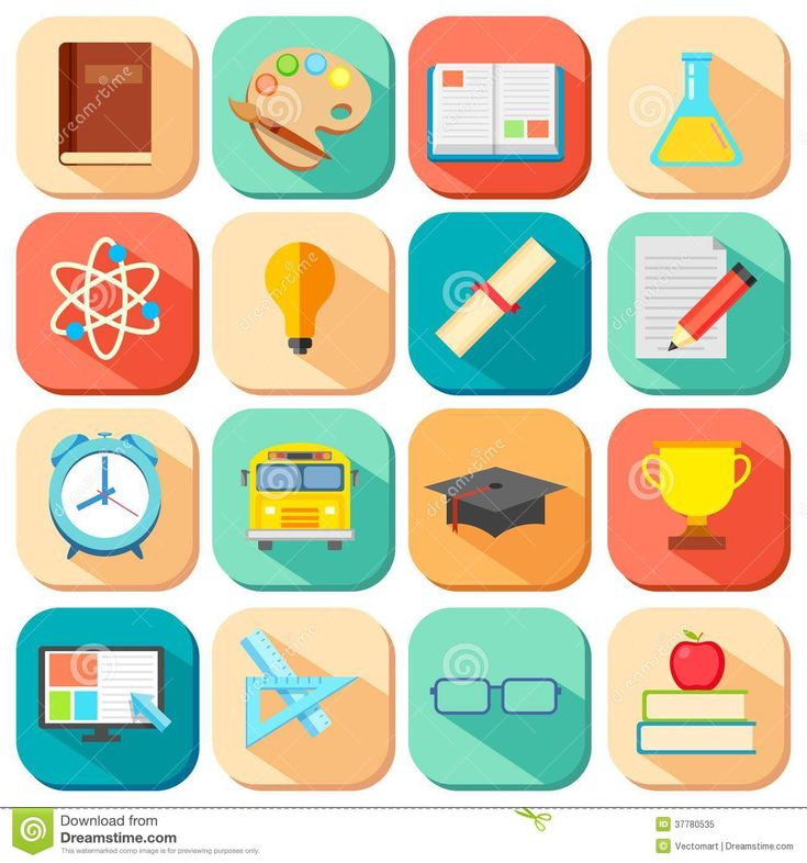 education vector icons - Google Search