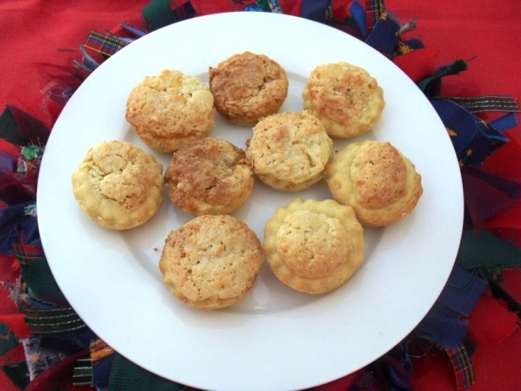 A recipe for hertzoggies, an old fashioned South African tartlet