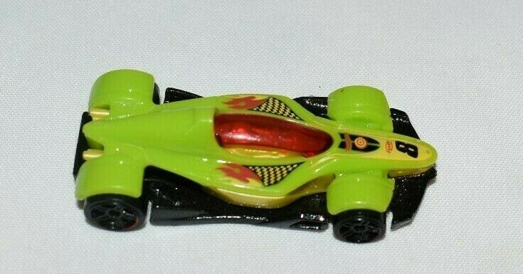 Hot Wheels Green Black Race Car Made In Malaysia Hotwheels Hot Wheels Race Cars Racing