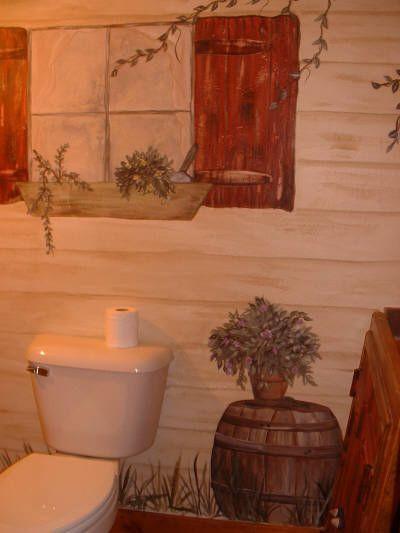 101 Best Primitive Bathroom Decor Images On Pinterest