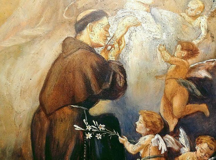 PAINTING OF A FRANCISCAN MONK | eBay