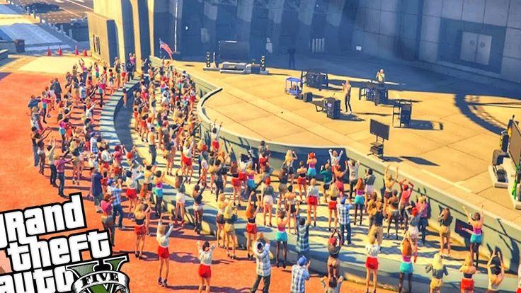 ПОДРАЛСЯ С ФЕЙСОМ НА КОНЦЕРТЕ В ГТА 5 МОДЫ! REAL LIVE VLOG GTA 5 MODS! Ф...