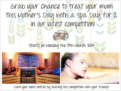 Our Mother's Day comp is up and running - Good luck!!! http://woobox.com/j3tayn