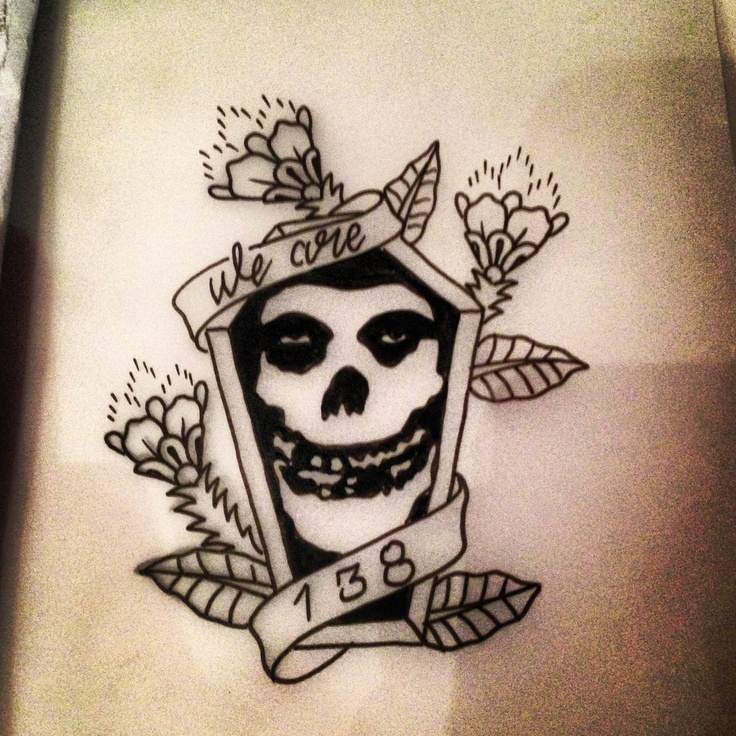 The Misfits Tattoo Design