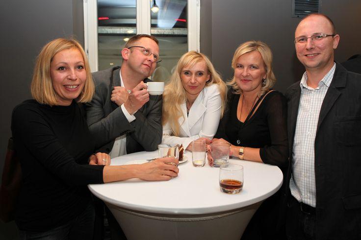 From the left: Magdalena Szmidt (Mosqito), Bartłomiej Wojdak (Lodz City Council), Aneta Gąsiorek and Anna Maj (IAB), Krzysztof Beniowski (Agora)