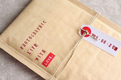 Simply lovely packaging by xiu xiu