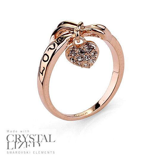 Bague Love You en or 18 Carats avec Crystaux for 25,00 CA$ #onselz