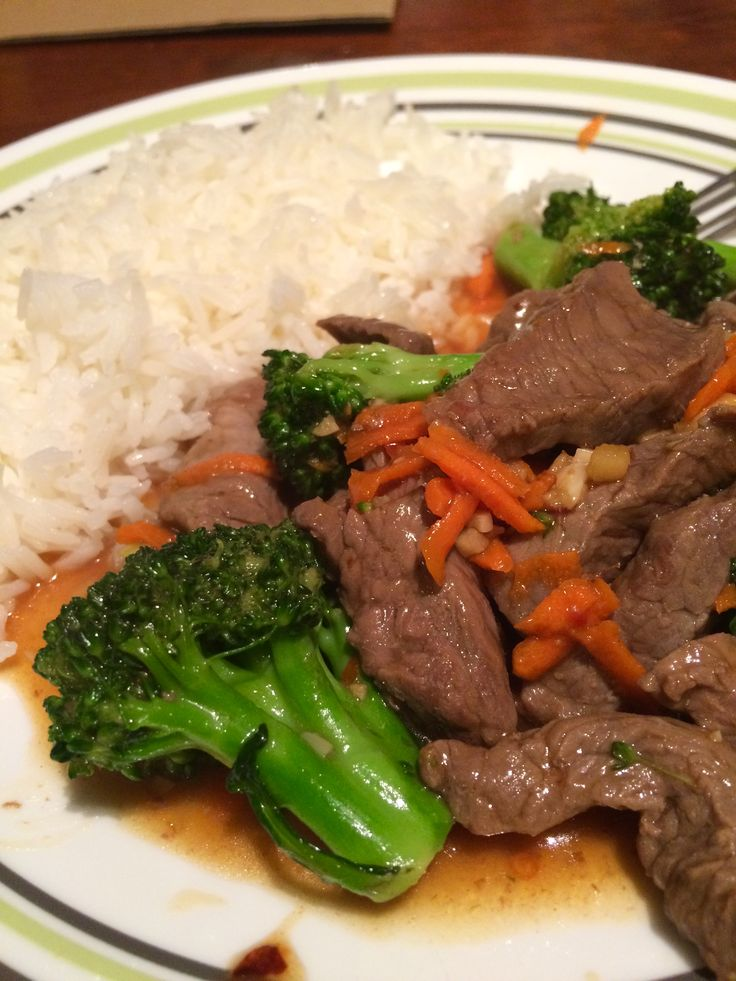 Stir Fry de brocoli y carne Sirloin and Broccoli stir fry #stirfry #saludable #healthy #broccoli #brocoli