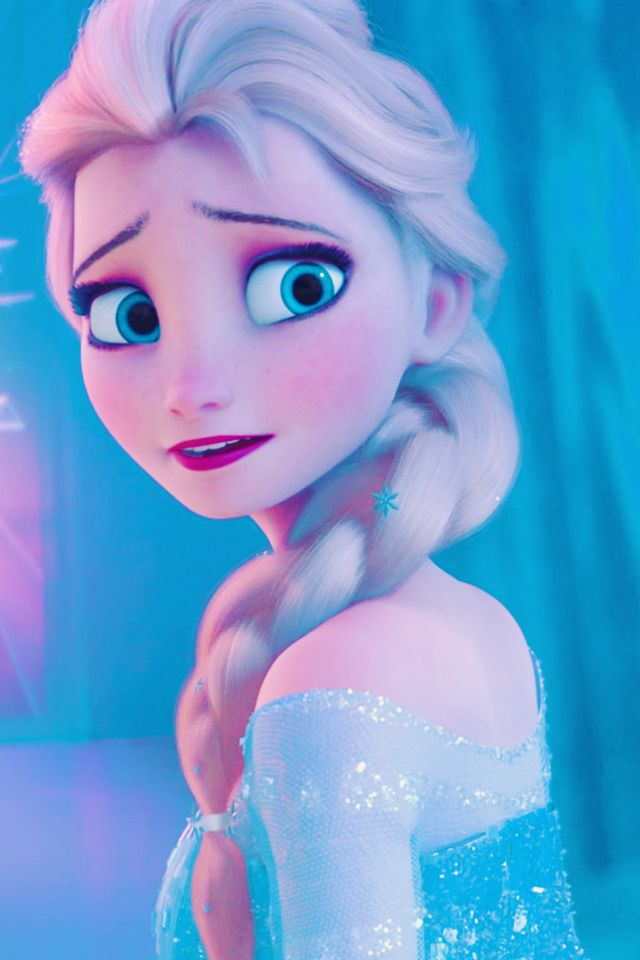 Elsa's sweet face <3 She has such empathy and love but no one but Anna sees and knows it. <3