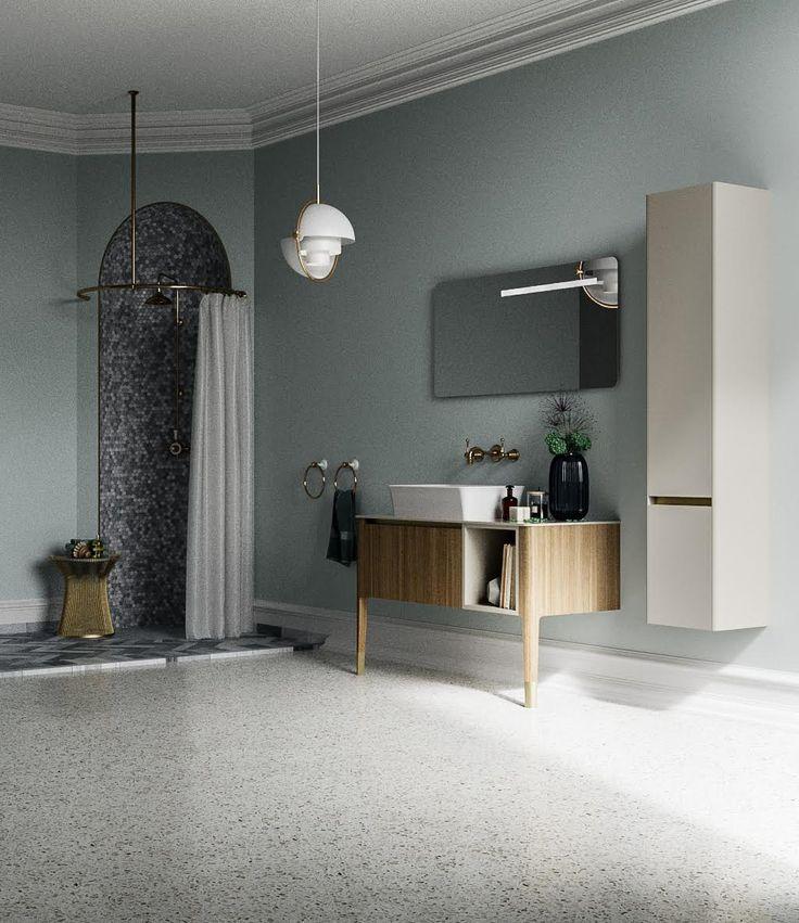 New model preview: ART by Puntotre Arredobagno #vintage #retrodesign #artdeco #bathroom #homedesign #interiors #arredobagno #bagno