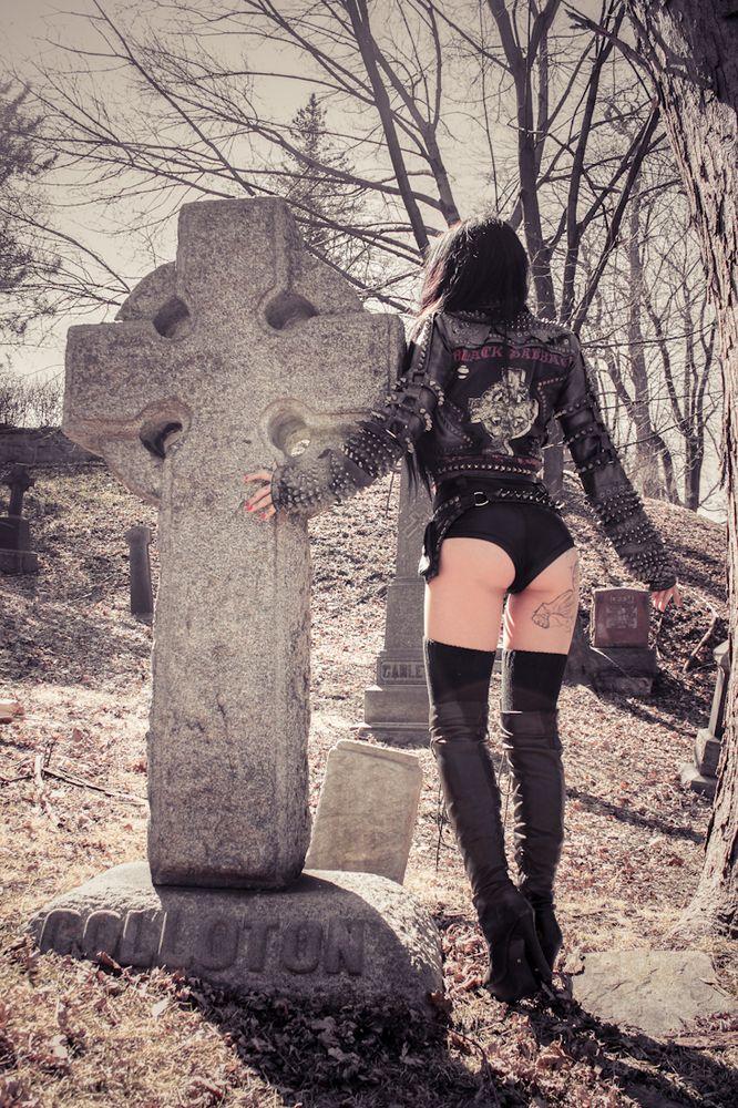 TOXIC VISION Black Sabbath Headless Cross biker jacket | Toxic Vision  Metal As Fuck!!