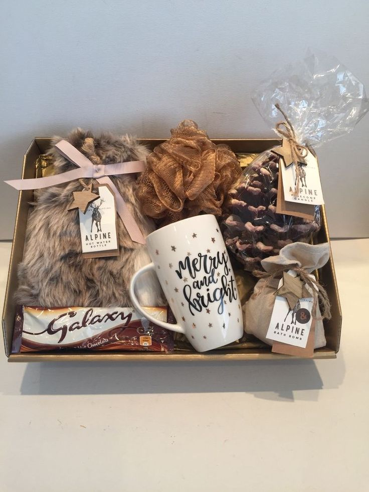 Details about Gift Basket Hamper for Her Ladies Gift Idea Mum Daughter Wife Sister Grandma