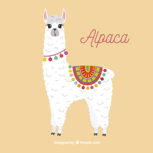 Download Cute Alpaca Background For Free With Images Cute