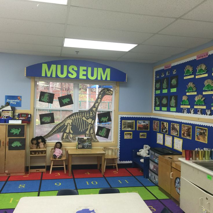 Dinosaur Museum in Dramatic play