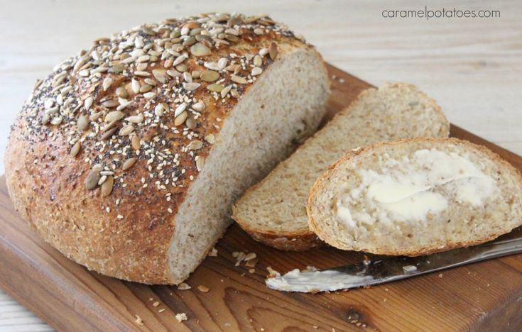 Dakota Bread - I Love this bread full of whole grain and seeds!