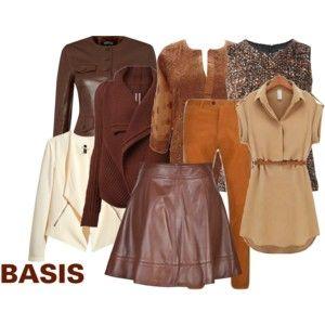 """Basis voor warme kleuren"" by antoinette-styling on Polyvore"