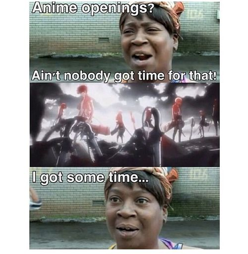 I Got Time!!!!! One Does Not Simply Skip Attack On Titan's