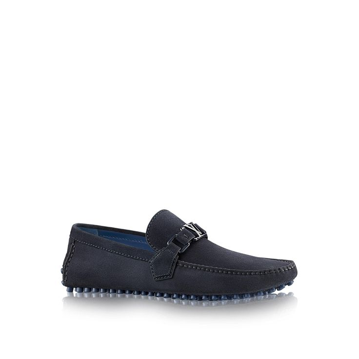 Discover Louis Vuitton Hockenheim Moccasin via Louis Vuitton. Chaussures ...