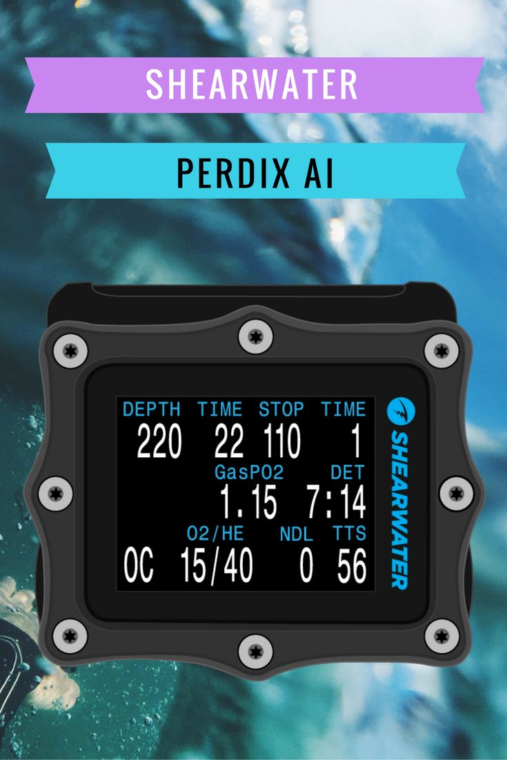 There's no doubt that the Shearwater Research Perdix dive computer is on many scuba diver's wish list. Yes, these cost more than your entry or mid-range dive computer, but don't be put off by this. This is a bulletproof dive computer that will grow with your diving. It will serve you well in shallow reefs, deep wrecks and cave dives.